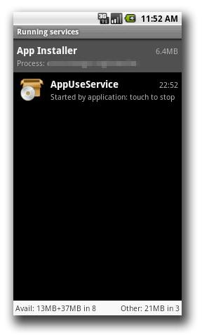 図2:不正なサービスのスクリーンショット