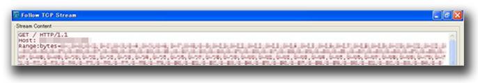 図1:脆弱性「CVE-2011-3192」を利用する特別に細工された HTTPリクエスト