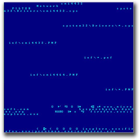 図1:環境設定ファイルである「TROJ_DUQU.CFG」