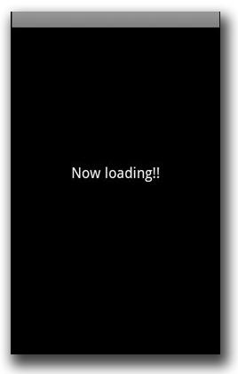 図2:アプリが起動すると表示される画面