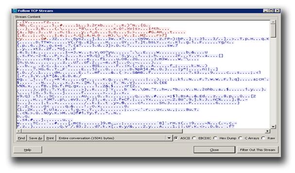 図2:「BKDR_POISON.HUQA」の80番ポートを利用したTCP通信
