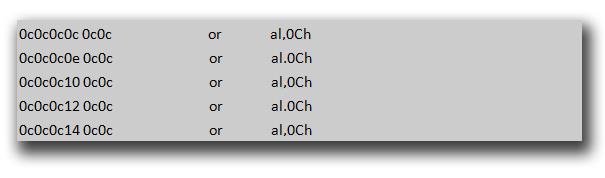 図12:「HTML_EXPLOYT.AE」の Heap Spray によって作成した領域への移動