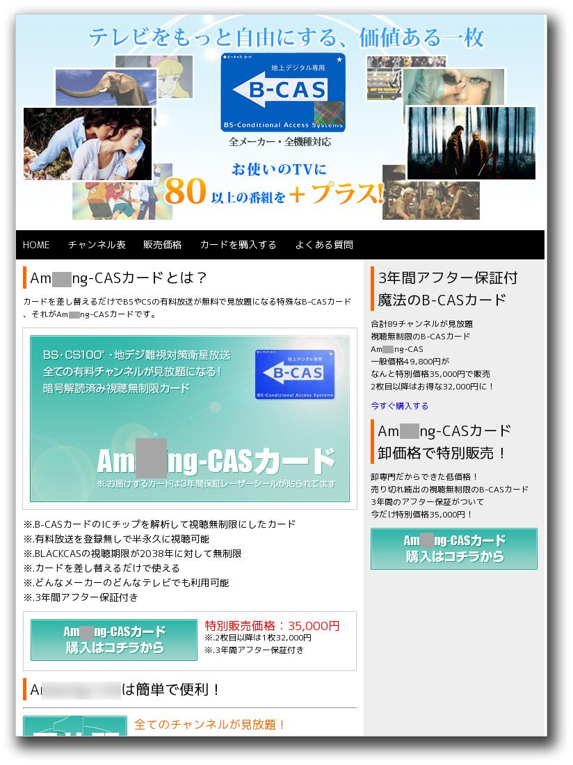 図4:同一IPアドレスで運用されている別のページ