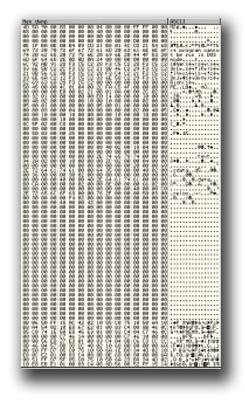 """図4:メモリ上に復号された """"実行ファイル"""""""