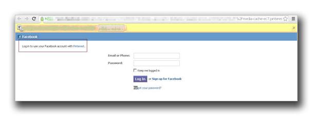 従来の「Facebook Profile Viewer」を利用する攻撃に新たな手法が用い