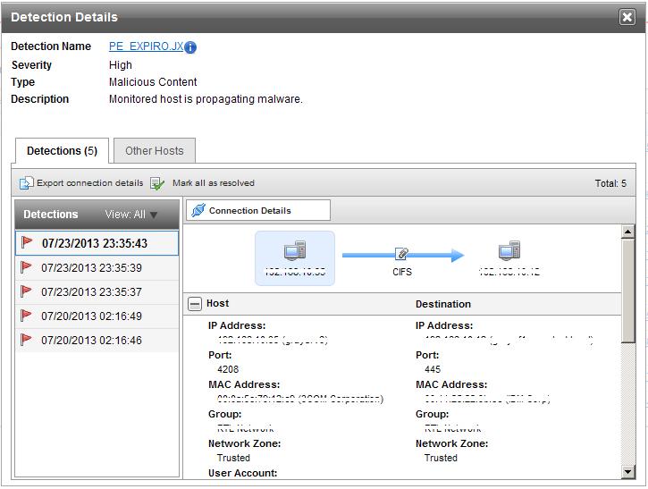 図5:感染PCに作成されたファイル情報