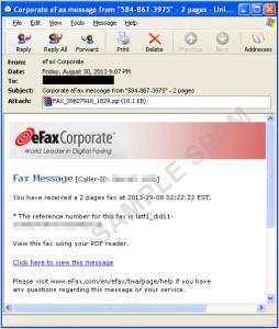 図2:「FAREIT」関連のスパムメールの例