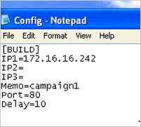図5:「EvilGrab」の環境設定ファイル