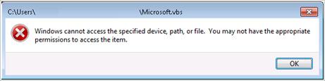 図6:OfficeScan の警告画面