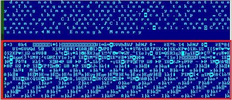 図2:感染後の実行ファイル