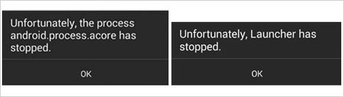 図2:PackageManager に依存するクラッシュしたサービス