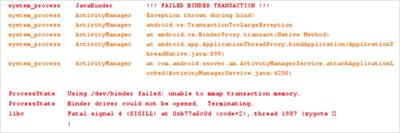 図3:Binder のドライバクラッシュ(クリックで拡大)
