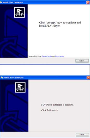 図2:アドウェアのインストール時に表示される画面
