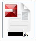 図1:脆弱性を攻撃する一太郎文書ファイルのアイコン例