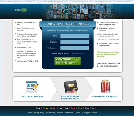 図2:動画配信サイトに誘導された例