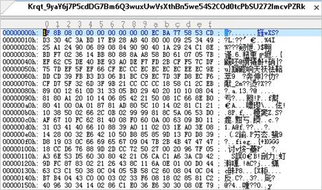 図4:Javaファイルのバイナリ