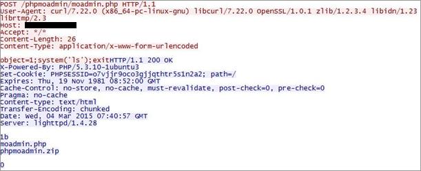 図4:パラメータ「object」を利用した場合のHTTPヘッダ