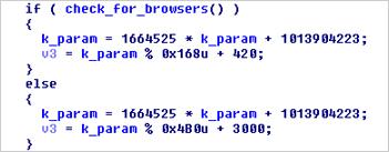 図9:パラメータ「k」のハッシュ値を作成