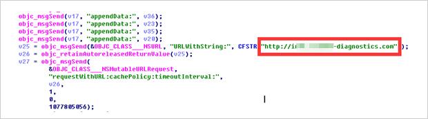 図6:「UnityGhost」は「XcodeGhost」(図2)と同様の手法で感染する。ただし、C&Cサーバは異なる