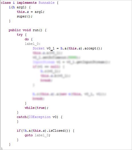 図7:ソケット接続から HTTP要求を監視