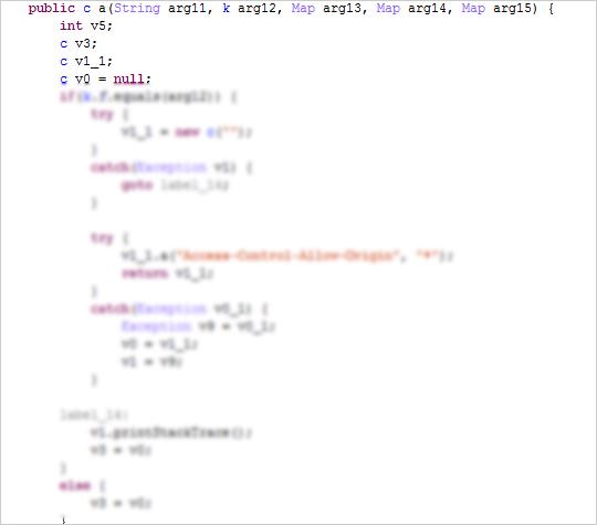 図8:関数「server」を上書きし自身の不正タスクを呼び出す