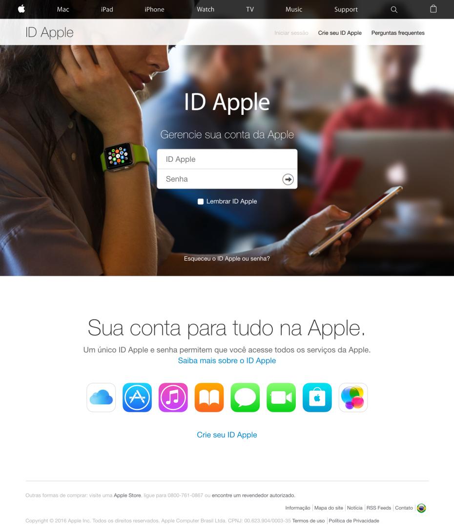 図2:Apple IDの認証情報を要求するフィッシング詐欺のページ