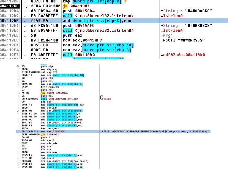 図6:ツールキットが生成したDASERFのステガノグラフィコード