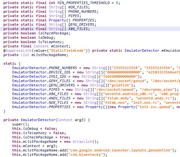 サンドボックス技術によるエミュレーションを回避するコード