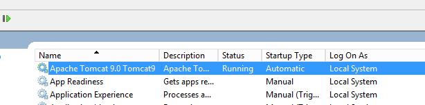 Tomcat が作成した追跡ログファイル