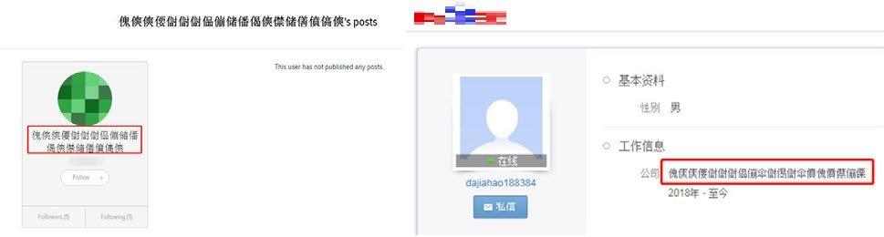 XLOADER が C&C サーバの IP アドレスを隠ぺいしているソーシャルメディアのユーザ情報
