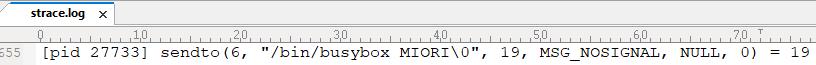 Mioriが送信するコマンド