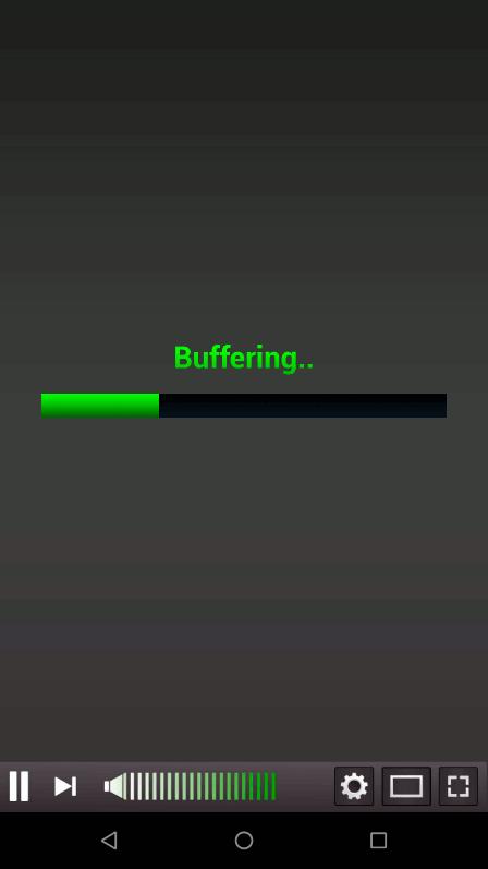 偽アプリが表示する読み込み中画面