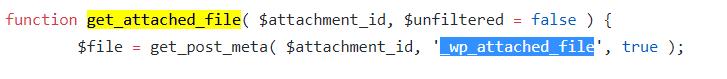 「wp_crop_image」関数は「get_attached_file」関数を利用してファイルにアクセス