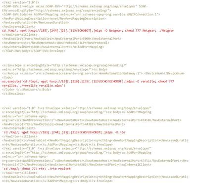 図1:ハニーポットのログで確認された侵入経路