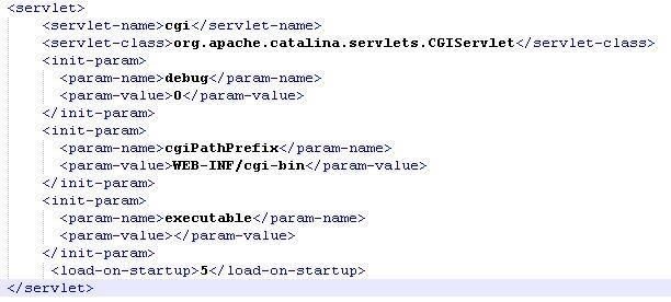 図5:「web.xml」ファイル