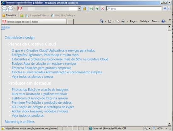 図8:MSIファイルはユーザをポルトガル語のサイトにリダイレクト