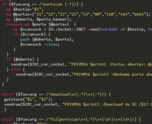 図5.難読化を解除したPerlスクリプト「rsync」