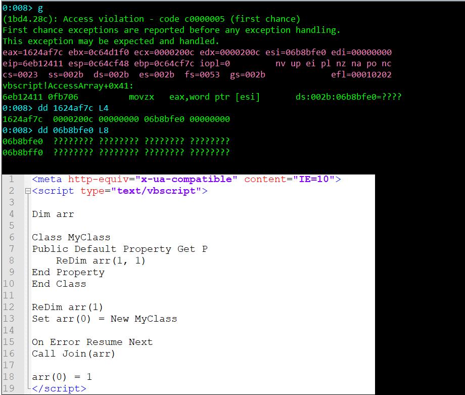 図4:VBAのステートメント「On Error Resume Next」を使用して変更したPoC