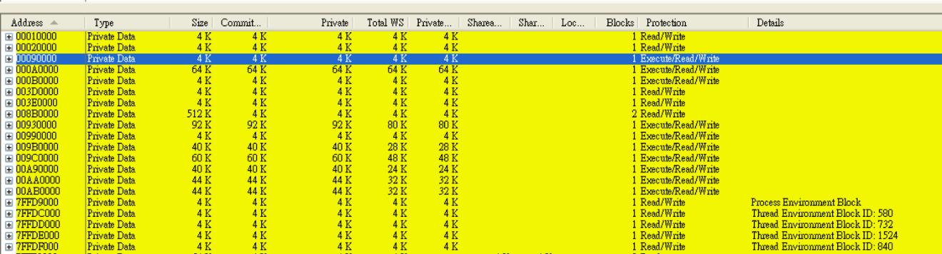 図15:svchost.exeに挿入されたシェルコード