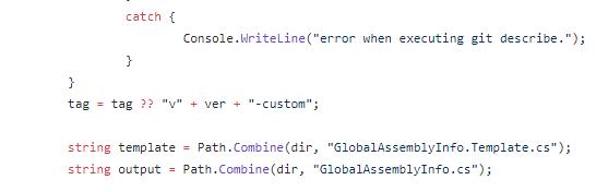 図5:Gitの外部で作成されたConfuserExのソースコード