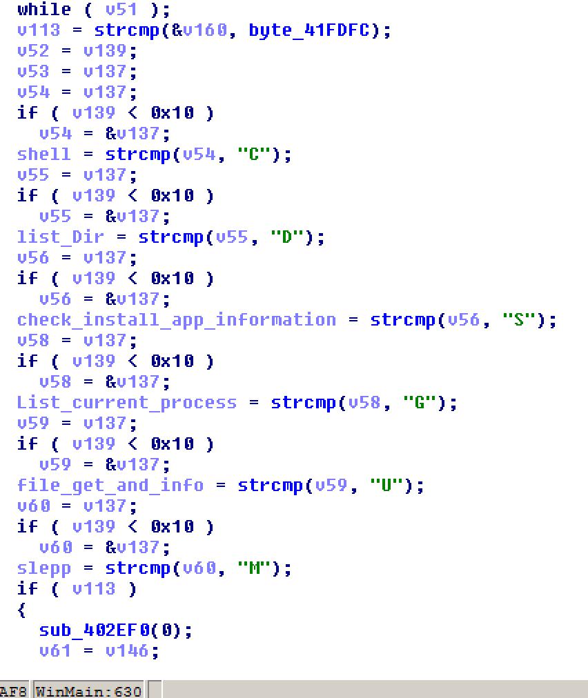 図6: -down_newのコマンド関数を示すコード
