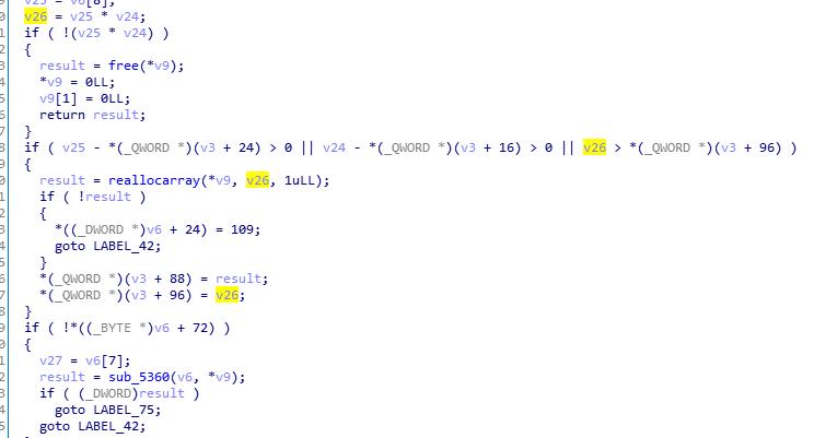 図10:パッチ済みのソースコード