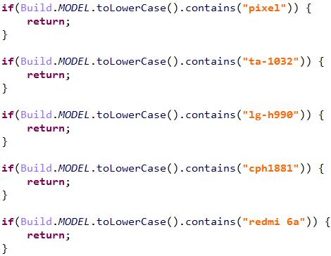 図6:CameroがダウンロードするDEXファイルのコードの一部