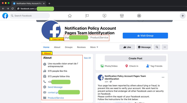 図10:偽のアカウントページに登録されるユーザ名と情報